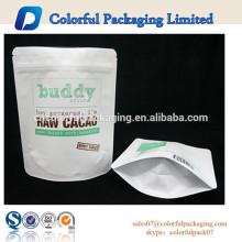 Empaquetado impreso del exfoliante corporal del café de la bolsa para requisitos particulares de pie