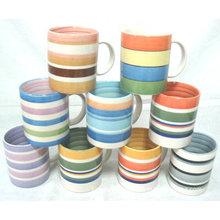 Großhandelskundenspezifische Abziehbild-Keramik-Kaffeetasse