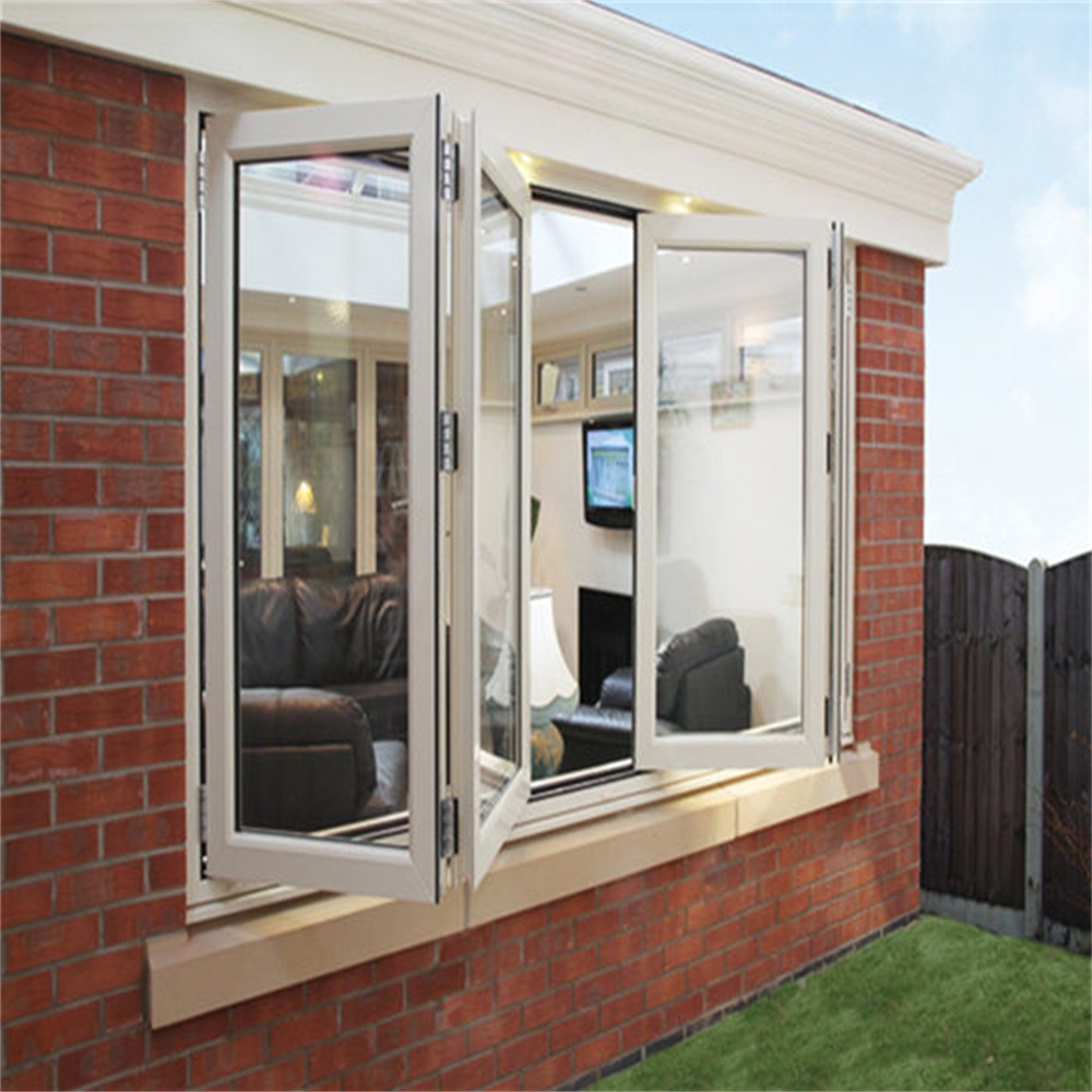 Thermal Break Aluminum Folding Glass Window