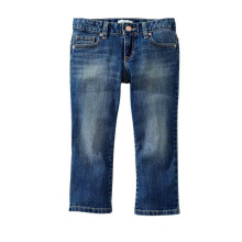 New Fashion Children Bomull Spandex Denim Capris