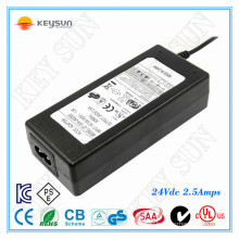 220v ac to 24v 2.5a power adapter switching Class 2 Power supply 60w