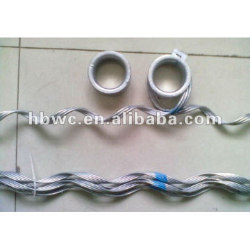 Preformed suspension clamp-for ADSS/OPGW