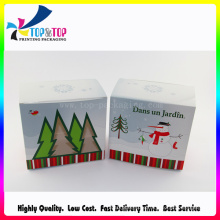 Christmas Paper Card Box, Paper Packaging Box with Cartoon Printing