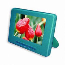 LCD Digital Photo Frame with Movie and Audio Functions