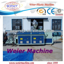 CE certificate Conical double screw extruder machine / PVC WPC line