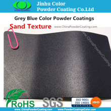 Grey Blue Sand Texture Powder Coatings pittura
