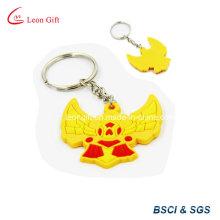 Forme d'oiseaux en relief porte-clés PVC / caoutchouc clé/clef en Promotion