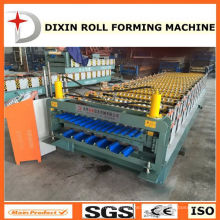 to Kenya, Double Layer Roof Metal Sheet Rolling Machine