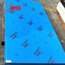 Size 4x8 Thickness Blue PE HDPE Sheet