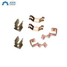oem aluminum stamping bend electrical contact parts