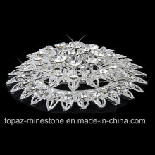 Silver Plated Rhinestone Crystal Jewelry Pins Brooch for Party (TM-034)