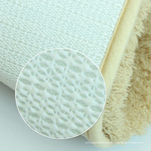 Teppich mit Unterlage aus Gummi Teppichunterlage