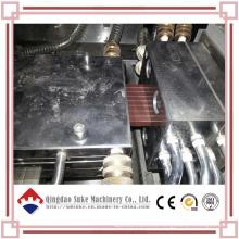Línea de extrusión de producción de tableros para pisos de madera y plástico de WPC