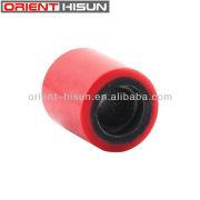 Alta qualidade e melhor serviço preto vermelho rodízio ferro centro rodízio da roda