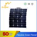 Flhigh Efficiency Sunpower Cell Exible Solar Panel 50W