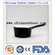 Pot à lait antiadhésif émaillé