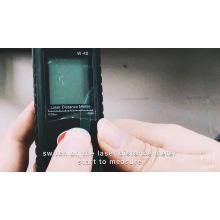 ferramenta de medição de ângulo de instrumento óptico caça laser rangefinder
