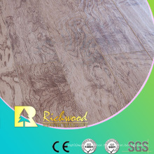 8.3mm E1 HDF AC4 Embossed Elm V-Grooved Laminate Floor