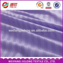 """Tejido de rayas 100% algodón satinado para el hotel o Hometextile CM60X40 173X105 Tejido de rayas raso de algodón 120 """"para cama de hotel"""