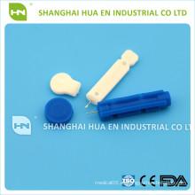 Con el CE FDA ISO certificó la lanceta de sangre disponible de la venta caliente de China