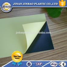 Jinbao en plastique bas prix 1mm 1.5mm pvc feuille pour album photo