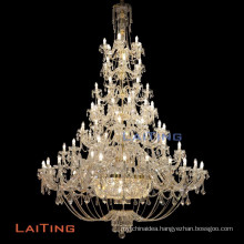 Zhongshan lighting factory baccarat style chandelier lighting in dubai 81033