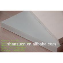 Panneau blanc de mousse de PVC, panneau de mousse de PVC de haute qualité, panneau plein de PVC pour des meubles usine de Qingdao