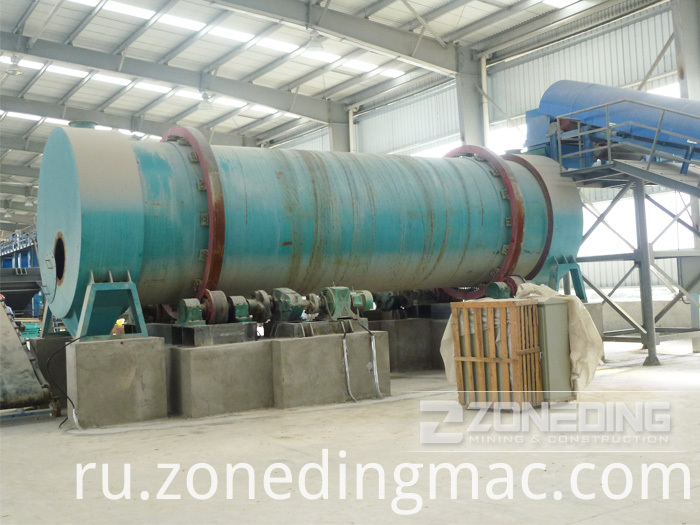 Three Drum Rotary Dryer