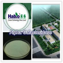Alpha-Galactosidase, Enzym mit Lebensmittelqualität