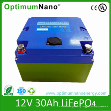12V 30ah LiFePO4 Battery for Golf Trolley and Golf Cart 12V Battery