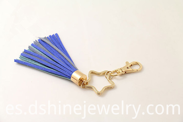 South Korea Velvet Fringe Keychain