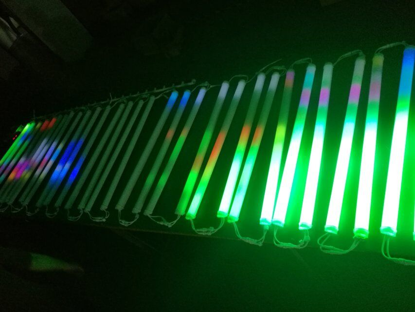 RGB DMX led tubo digitale