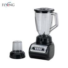 Liquidificador de copos de plástico elétrico preto de cozinha 1,5L 2020