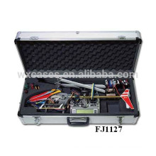 strong aluminum helicopter case with custom foam insert from China manufacturer