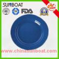 Custmized Enamel Round Dinner Plate/Pie Dish