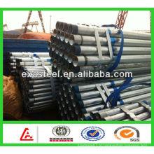 Tubo de aço galvanizado comprimento padrão 6m