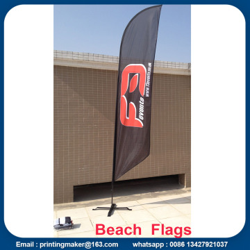 Werbung Custom Flags Wind Feather Flags