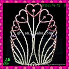 Vente en gros New Designs Rhinestone Crown, New Product Crown