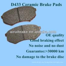 OE Qualität japanische Toyota Bremsbelag