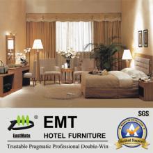 Ensemble luxueux de chambre d'hôtel (EMT-A0668)