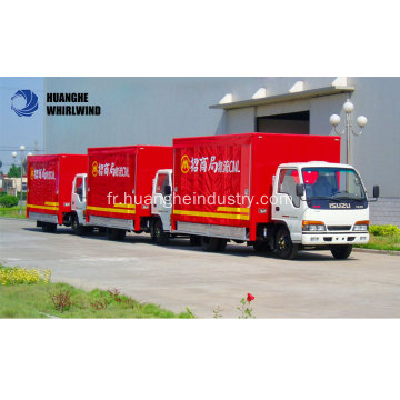 Camion Curtainside de transport de cargaison