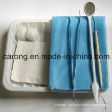 Instrumento dental desechable 3 piezas