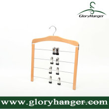 Multifunction Wooden Trousers Hanger for Household