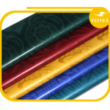 100% coton guinée brocade Africain tissu hommes robe chemises tissu pas cher prix 10 verges / sac damassé bazin riche Feitex