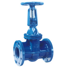 DIN3352 F5 Flanged Metal Seated Gate Valve, Rising Stem