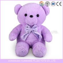 vívido roxo urso de pelúcia brinquedos com coração