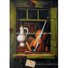 Pinturas al óleo de alta resolución