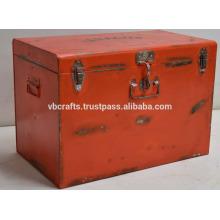 Industrial Metal Box Vintage Finish