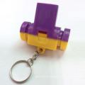 Brinquedo de crianças de promoção colorido apito de plástico com chaveiro (10224290)