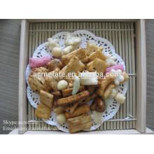 Snack food lanches de milho biscoito de arroz